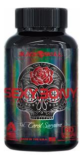Sexy Bone Black Skull Carol Saraiva Series