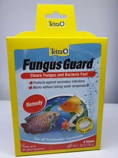 Tetra Fungus Guard 8 Tabletas Hongos Bacteria Peces Tropicales