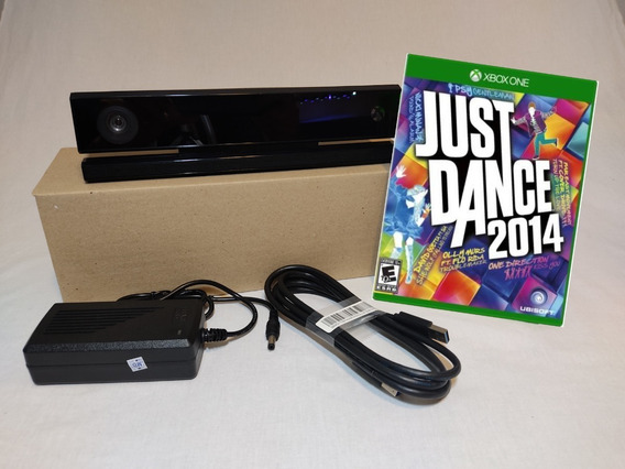 Kinect Adaptado Para Xbox One X + Jogo Just Dance 2014