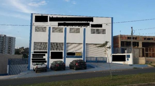 Barracão Para Alugar, 560 M² Por R$ 6.100,00/mês - Residencial Parque Da Fazenda - Campinas/sp - Ba0402