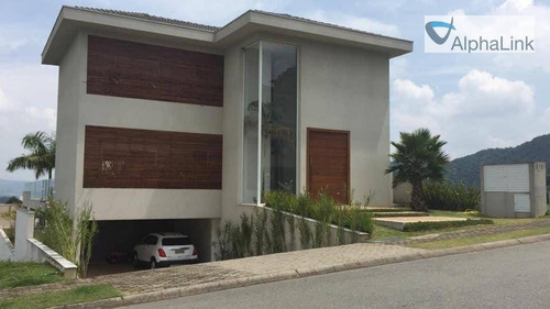 Casa Com 4 Dormitórios À Venda, 604 M² Por R$ 5.500.000,00 - Tamboré - Santana De Parnaíba/sp - Ca0717