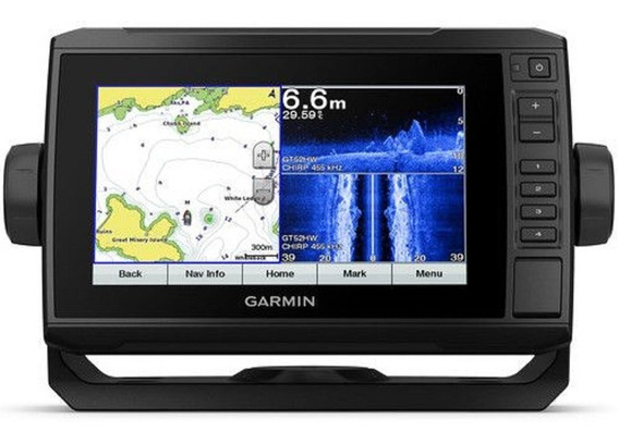 Gps Garmin Echomap 72cv Plus + Transdutor + Carta G2 Vision