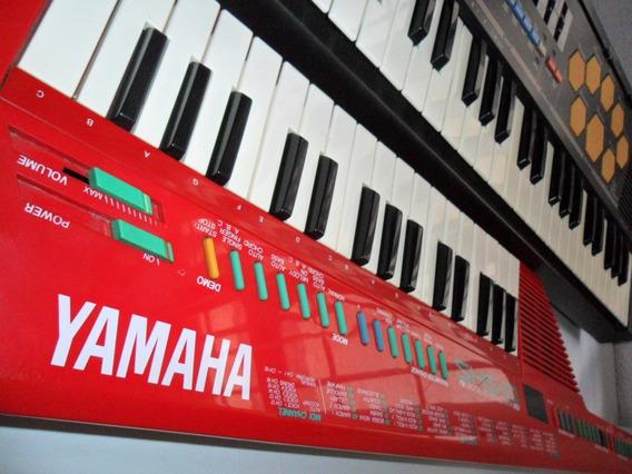 Yamaha Shs10 Keytar Japones Usado Observa Y Lee Rojo $3999