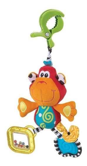 Juego Bebe Colgante Dingly Dangly Curly The Monkey Playgro