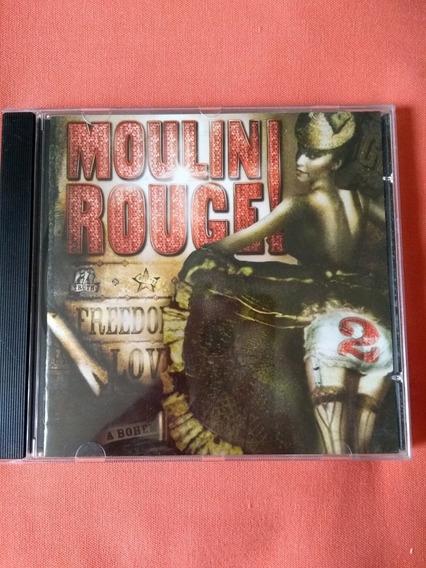 Cd Trilha Sonora Moulin Rouge 2 - Original Perfeito Estado!!