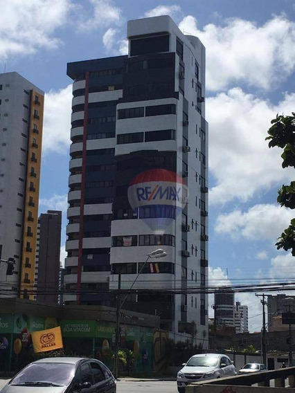 Andar Comercial Boa Viagem Ao Lado Do Shopping Recife 100m2 3 Vagas. Oportunidade! - Sa0108