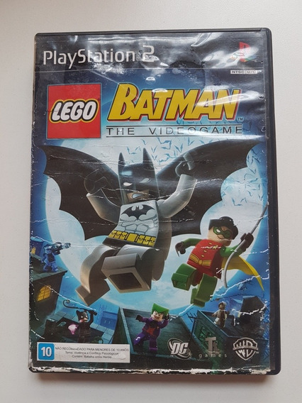 Capa Lego Batman Original Para Playstation 2