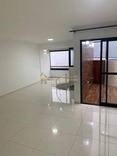 Imagem 1 de 17 de Apartamento Em Condomínio Cobertura Para Venda No Bairro Jardim Amaralina, 3 Dorm, 1 Suíte, 2 Vagas, 140 M - 4552