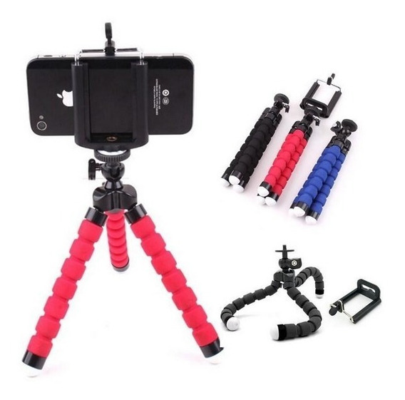 Tripé Celular Articulado Selfie Câmeras Gopro