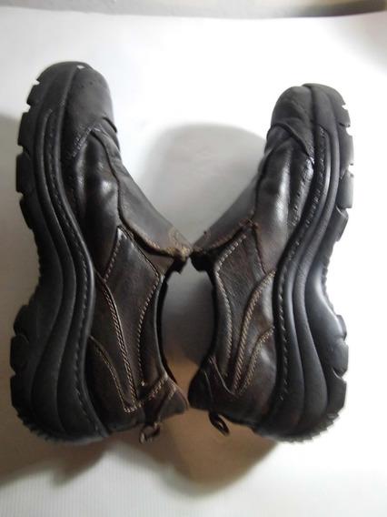Zapatos Apolo Marrón Talla 40/27cm. Usados