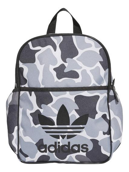 Mochila adidas Originals Moda Bp Camo Boy Inf Gr/go
