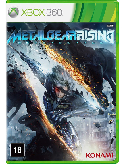 Jogo Midia Fisica Metal Gear Rising Revengeance Pra Xbox 360