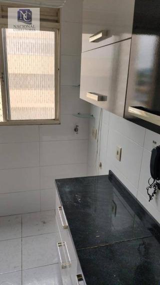 Apartamento Com 2 Dormitórios À Venda, 50 M² Por R$ 175.000,00 - Parque Das Nações - Santo André/sp - Ap10001