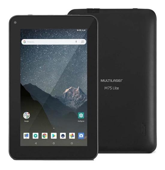 Tablet Multilaser M7s Lite 8gb 7 Pol. Android 8.1 Nb-296