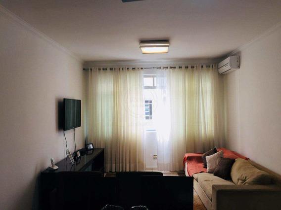 Apartamento Em Santos Bairro Gonzaga - V1706