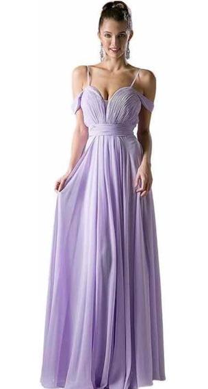 Vestido Color Lila Talla 8 De Cinderella Divine
