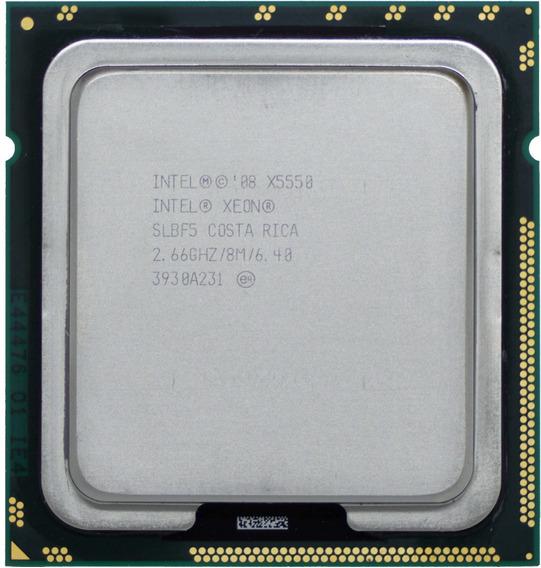 Process Intel Xeon X5550 Quad Core 8 Threads Lga1366 I7 940