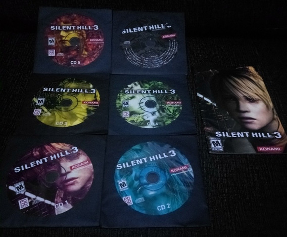 Silent Hill 2 E 3 - Pc, Original, Raros! P/ Windows 98