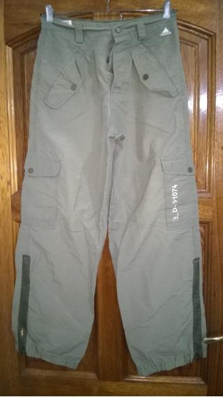 Pantalón Cargo adidas Talle S Hecho En Brasil-cintura 39cm#1