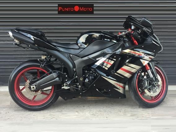 Kawasaki Zx 6 R Ninja !! Puntomoto !! 15-2708-9671