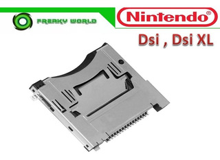 Slot Socket Nintendo Ds I, Dsi Xl Original Cartucho Consola