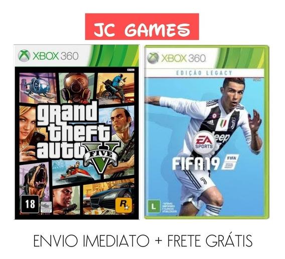 Gta V + Fifa 19 Legacy Edition Original - Mídia Digital