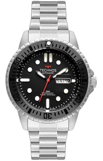 Relógio Technos Masculino Automático Prata Classic 8205oj/1p