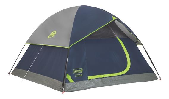 Carpa Coleman 6 Personas Impermeable De Camping Sundome