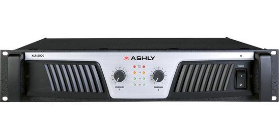 Amplificador Poder Ashly Klr5000 5000w Peso Ligero