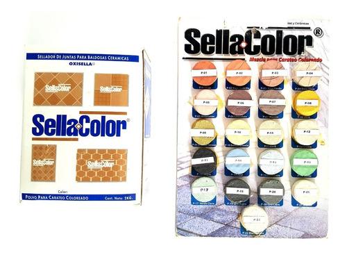 Carateo Sellacolor Blanco Puro Para Porcelanato Y Ceramicas