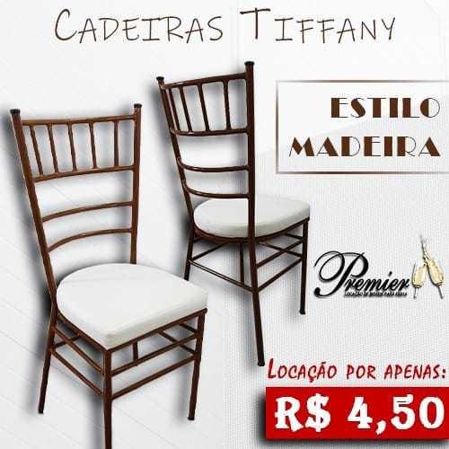 Imagem 1 de 10 de Aluguel Locação Cadeiras Tiffany Mesas Sousplats Rattan Puff