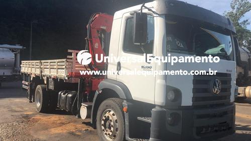 Caminhão Vw 15-190 Ano 2013 Com Munck Luna 16.506