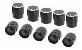 Knob Potenciometro Furo 6mm- 2 Unidades.