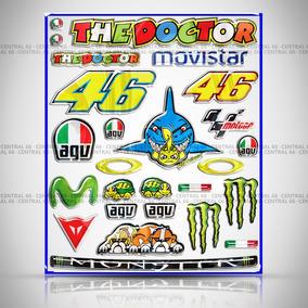 Cartela 2018 Valentino Rossi Sundown Vblade Resinado Tubarão
