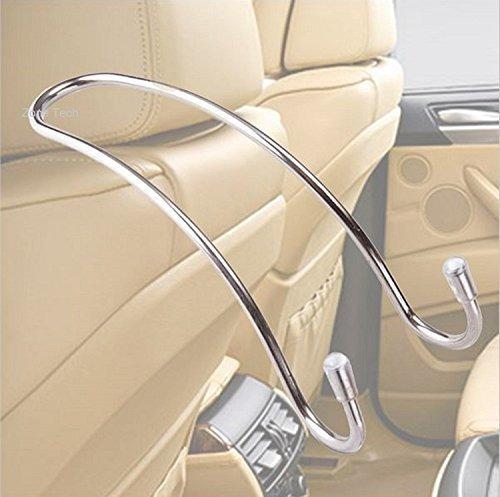 Zone Tech Ha0004m Premium Quality Metal Vehiculo Reposacabe