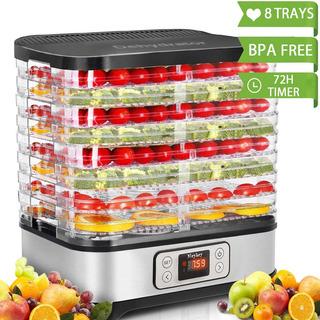 Máquina Deshidratadora De Alimentos, Temporizador Digit...