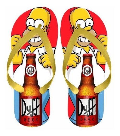 Chinelo Homer Simpson