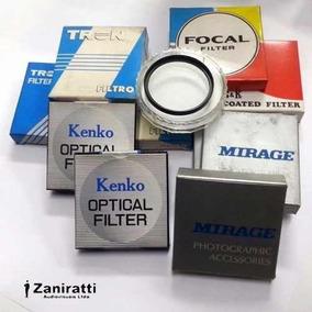 Kit 8 Filtro 52mm - 85a, W4, 82a, C12 - Várias Marcas