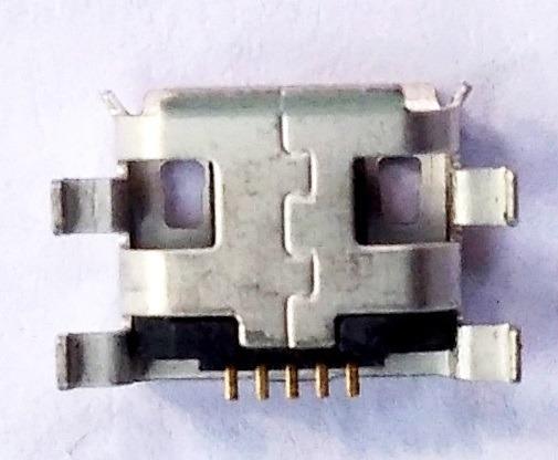 Micro Usb Tipo B Conect Hembra Celular O Tabletas Pack 10pzs