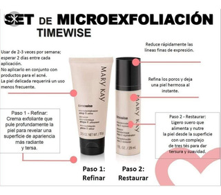Set Microesfoliacion Mary Kay.