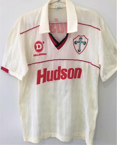 Camisa Portuguesa Usada Em Jogo 1991 Dener Autografada