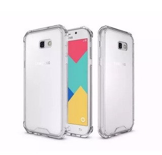 Capinha Silicone Transparen Antichoque Samsung A7 2017 A720f