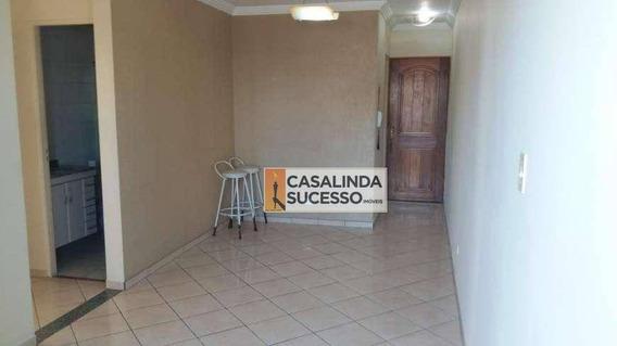 Apartamento Com 3 Dormitórios Para Alugar, 63 M² Por R$ 1.900/mês - Tatuapé - São Paulo/sp - Ap5928