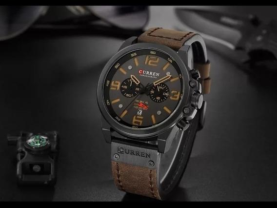 Relógio Masculino De Luxo À Prova Da Água-curren- Militar
