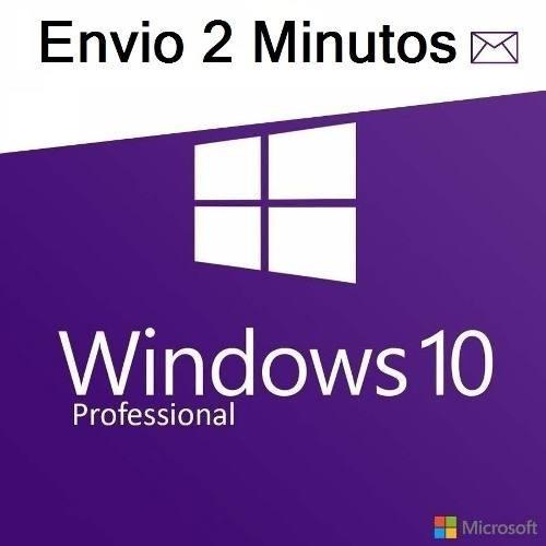 Key Windows10 Pro Key Serial Chave Licença Original Ativa Online