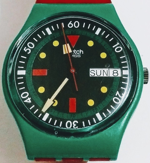 Reloj Para Caballero Swatch Modelo Vintage Usado