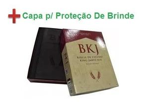 Bíblia De Estudo Bkj King James 1611 Pret Estudo Holman Capa