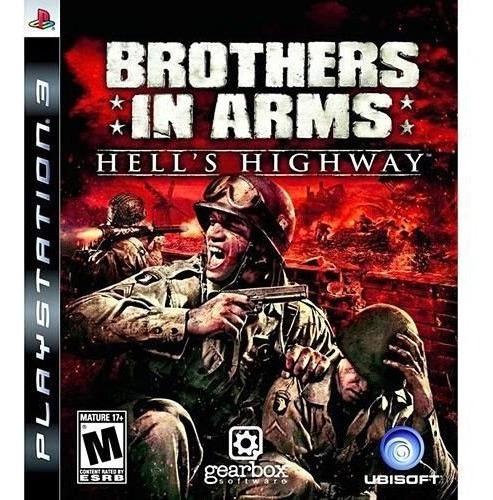 Brother In Arms Hells Higway Ps3 Original Mídia Física