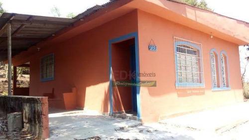 Imagem 1 de 9 de Chácara Com 2 Dormitórios À Venda, 1000 M² Por R$ 212.000 - Chácaras Santa Maria - Jacareí/sp - Ch0562