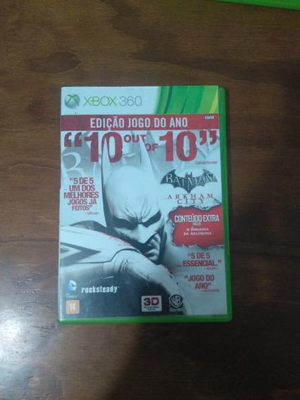 Jogo Batman 10 Out Of 10- Xbox 360